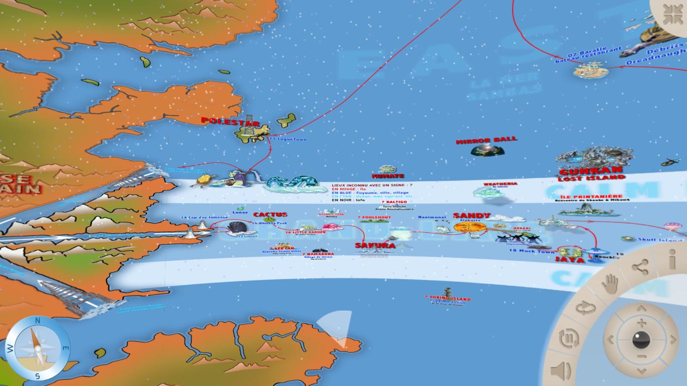 one piece carte du monde Cartographier l'imaginaire : l'exemple de One Piece | Veille
